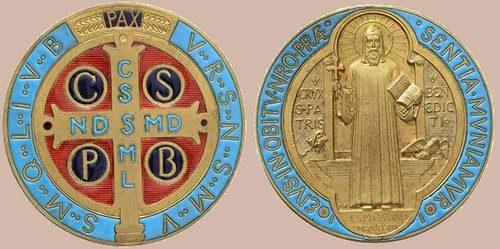 Medaglia di San Benedetto e/o Croce di san Benedetto