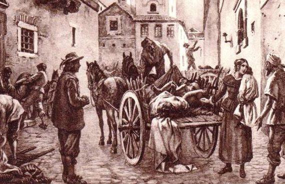 Antica preghiera francescana contro la peste e le epidemie