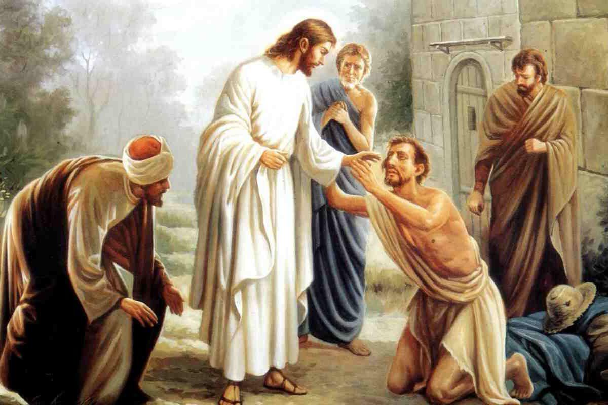 Preghiera di guarigione a Gesù